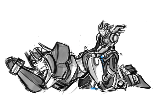 transformers miko fanfiction jack and prime Samgladiator yandere high school 35