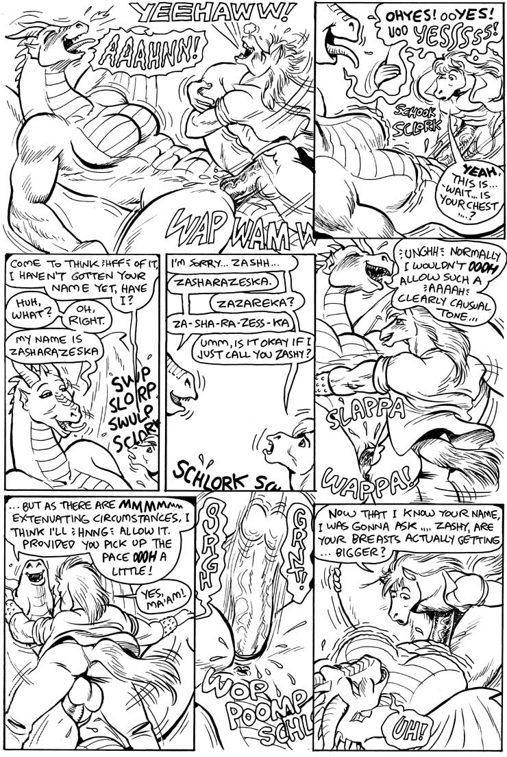 here e621 dragons be there Alone in the woods comic