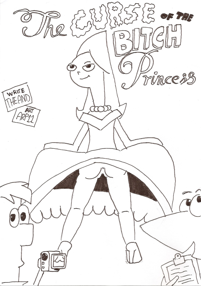 star porn and ferb phineas wars Boob butt belly expansion art