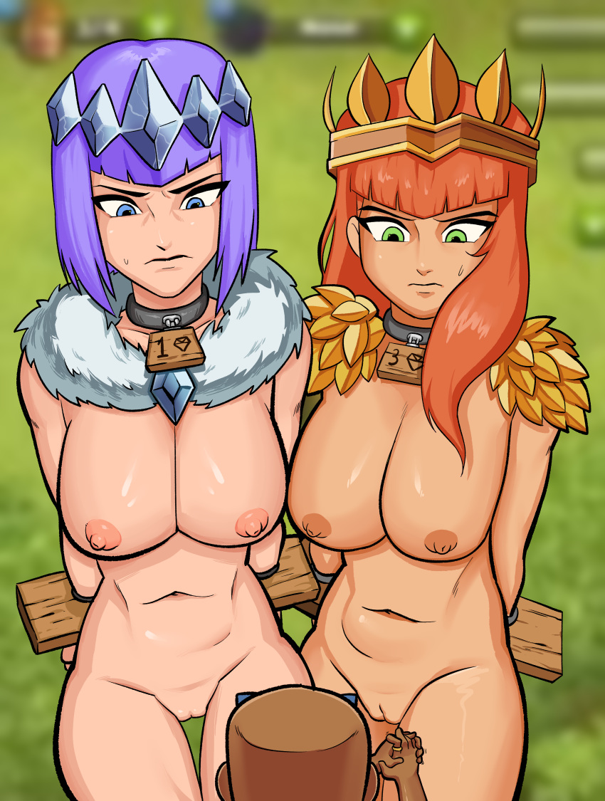 clans troops of naked clash Road to el dorado chel naked