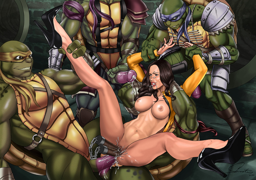 turtles from of ninja pictures april Dark messiah of might and magic nude