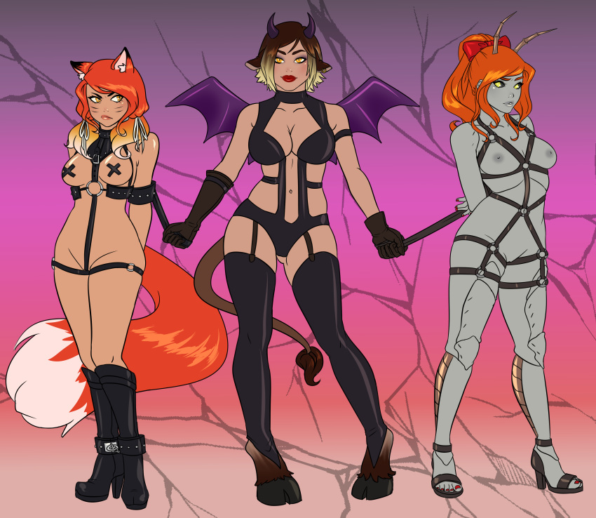 anime haired fox white girl Belladonna all dogs go to heaven