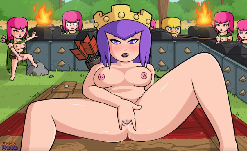 fotos clash do clans of Anime transgender male to female