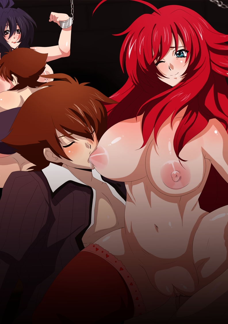 highschool dxd rias and issei gif Castlevania - portrait of ruin